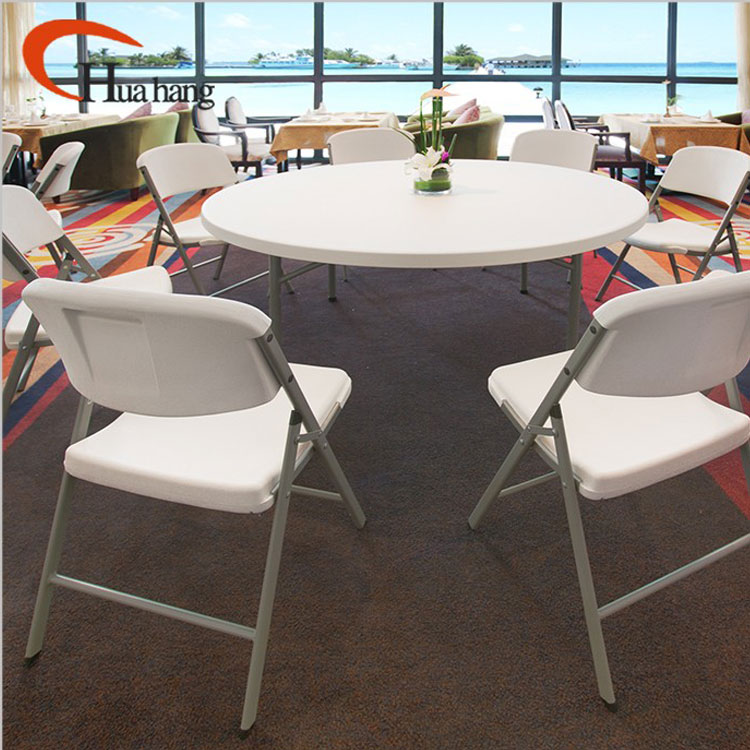 Factory Sale Various White Plastic Outdoor Table And Chair