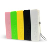 Easy Carry Rechargeable Portable Power Bank Perfume 2600MAH Power Bank Gift Promotional For Girls