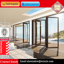 Folding sliding used commercial glass doors