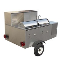 Mobile Catering Trailers For Sale With Char Grill