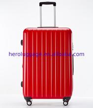 China cheap durable trolley travel luggage bag with factory price