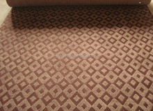 good quality soft jacquard carpet double colors used in meeting room