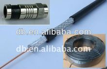 CATV 75 Ohm RG6 Coaxial Cable And Connector RG6