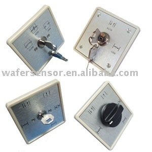 Automatic door key switch series