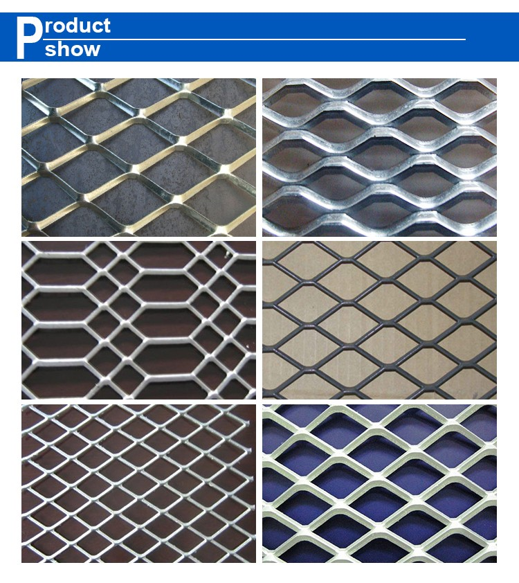beautiful and safety decoration aluminum expanded metal mesh ceiling wire mesh