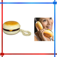 Hamburger telephone,fancy home telephone