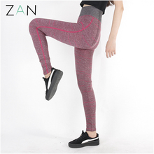 Women sports leggings fitness push up slim workout skinny leggings