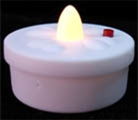 White Color Flashing LED Candle Factory Price