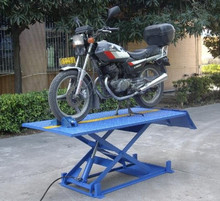 CE certificated 350kg electric auto motorcycle lift stand