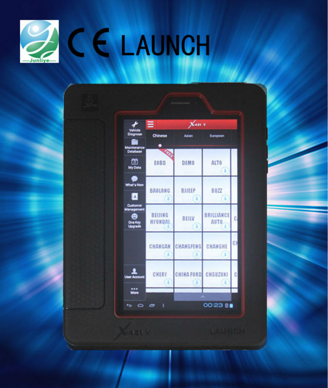 X-431 (X431V) Overseas Full Configuration China car LAUNCH X431 diagnostic tool