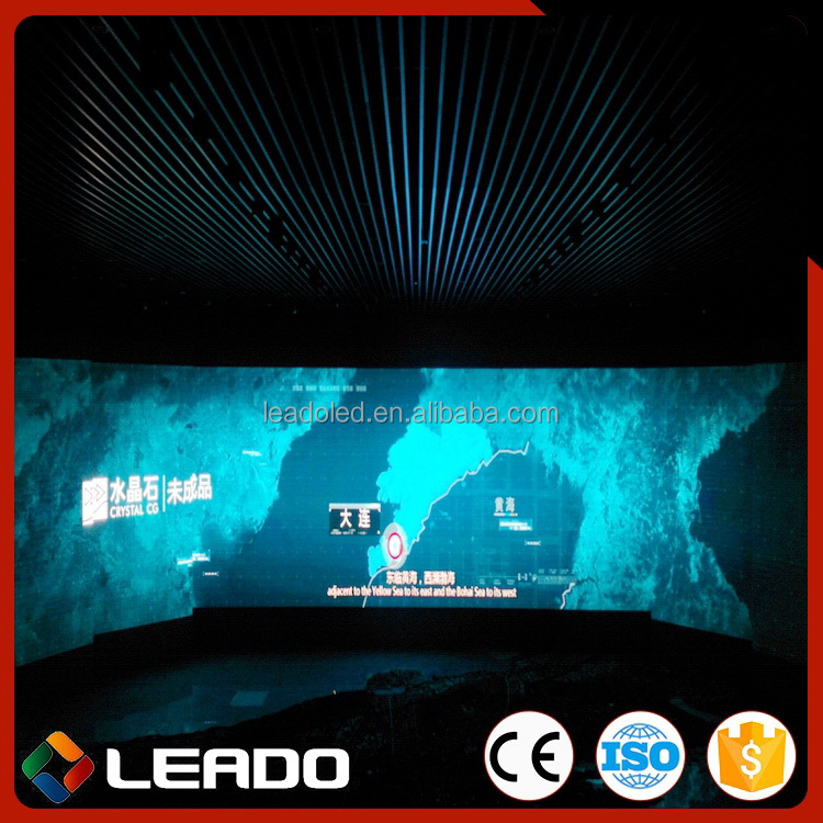 Top level hot sell p7.62 video led display full color