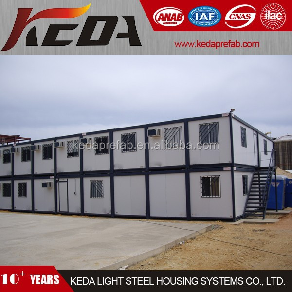 Prefabricated Moveable Cheap House Container Office Building on Site 359