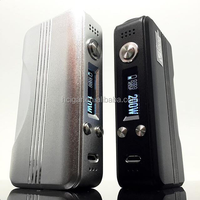 2015 HCigar dna200 upgrade software on computer VT200 e cigarette