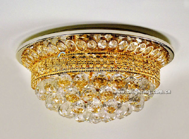 American design luxury golden tiffany style ceiling lights