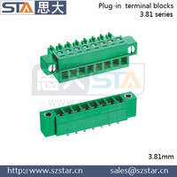 Plastic Block Terminal Connector Pluggable Terminal Block Phoenix Contact