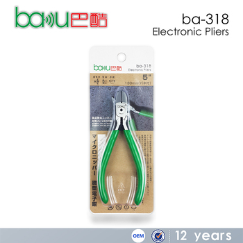 BAKU Ba-318 New Design and High Quality Electronic Plier As Cutting Pliers And Pliers Hand tool
