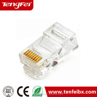 cat5/cat6/cat6a/cat7 High Performance internet wiring connectors