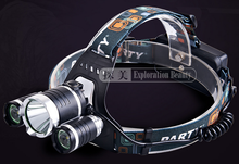 New 800LM 10W LED Head Lamp for Hunting Rechargeable Head Light