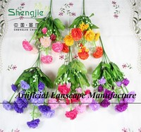 SJYBH31 ARTIFICIAL FABRIC/POLYESTER/NYLON LILAC FLOWERS WHOLESALE FOR EXTERIOR/INTERIOR DECORATION