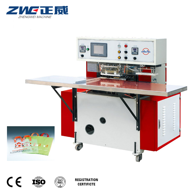 Full Automatic Plastic T-Shirt Shopping Bag Heat-Sealing Making Machine