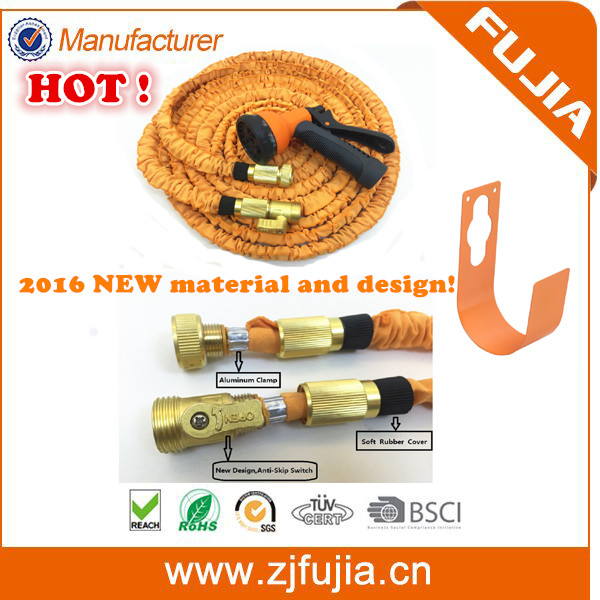 2016 New Water Expandable HOSE/ Elastic Fabric shrinking garden hose