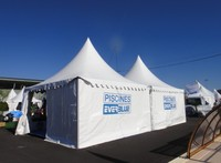 5 x5m export PVC tents in the Philippines