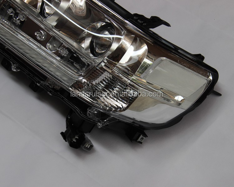 Head Lamp for toyota land cruiser lc200/fj200 2016 oe style