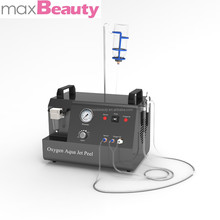 Hot sale professional portable beauty salon facial therapy machine of water oxygen sprayer and jet peel (with CE)
