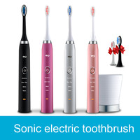 2 in 1 travel ABS, TPR, DuPont Tynex bristle electrical Toothbrush