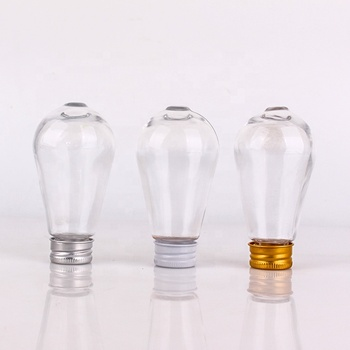 73ml glass bottle for water juice beverage with screw metal cap
