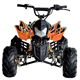 110cc 4-stroke 1-cylinder air-cooled adult ATV