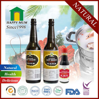 Traditional Mushroom hot dark soy sauce for restaurant certified with HACCP HALAL ISO