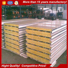 high fireproof rockwool sandwich panel