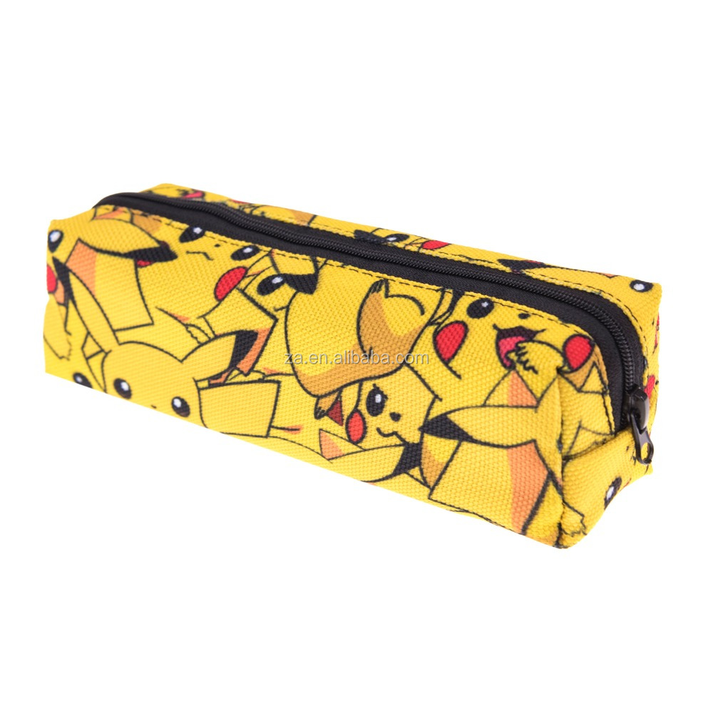 alibaba china custom printed wholesale large zipper pencil case for kids