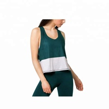 Customized stitching style quick drying, moisture absorption and perspiration active wear women's <strong>sport</strong> band top