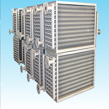 spiral copper fin tube heat exchanger with ASME standard