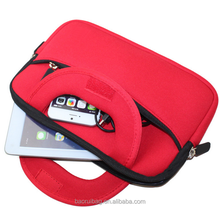 13 13.3 14 Inch Neoprene Laptop Sleeve With Handle Pocket/Notebook Computer Case/Tablet Briefcase Carrying Bag