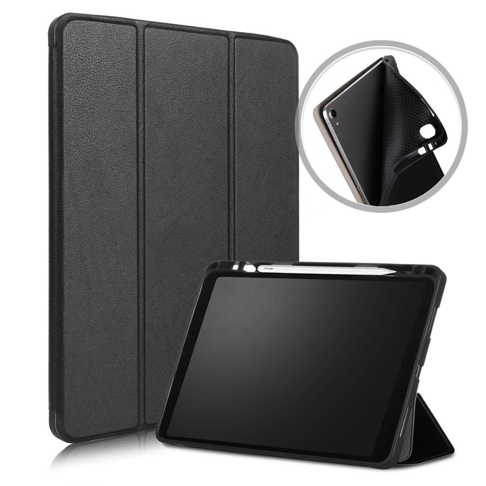 Pencil Holder Trifold Magnetic Ultra Slim Smart Case Cover For iPad Pro <strong>11</strong> Leather Case