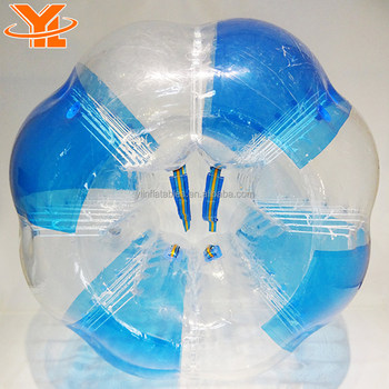 YL 0.8mm TPU Bouncing Hover Ball, Inflatable Human Bubble
