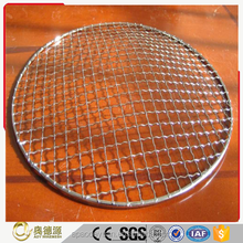 China supplier stainless steel crimped Barbecue wire mesh