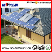 R10 slate roof aluminum solar mounting system