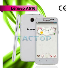 Lenovo A516 Smart Mobile Phone MTK6572 Dual Core Android 4.2 3G WCDMA 900 / 2100