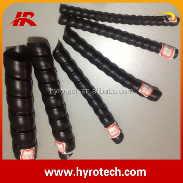 attractive price!1PP/PE/PVC /HDPE Colorful Plastic Hose Guard/hydraulic hose protector