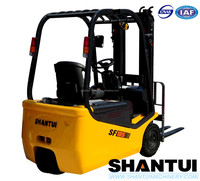 Shantui 1.5 ton electric fork lift truck sale for UK
