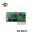 low power consume learning code wireless receiver circuit board
