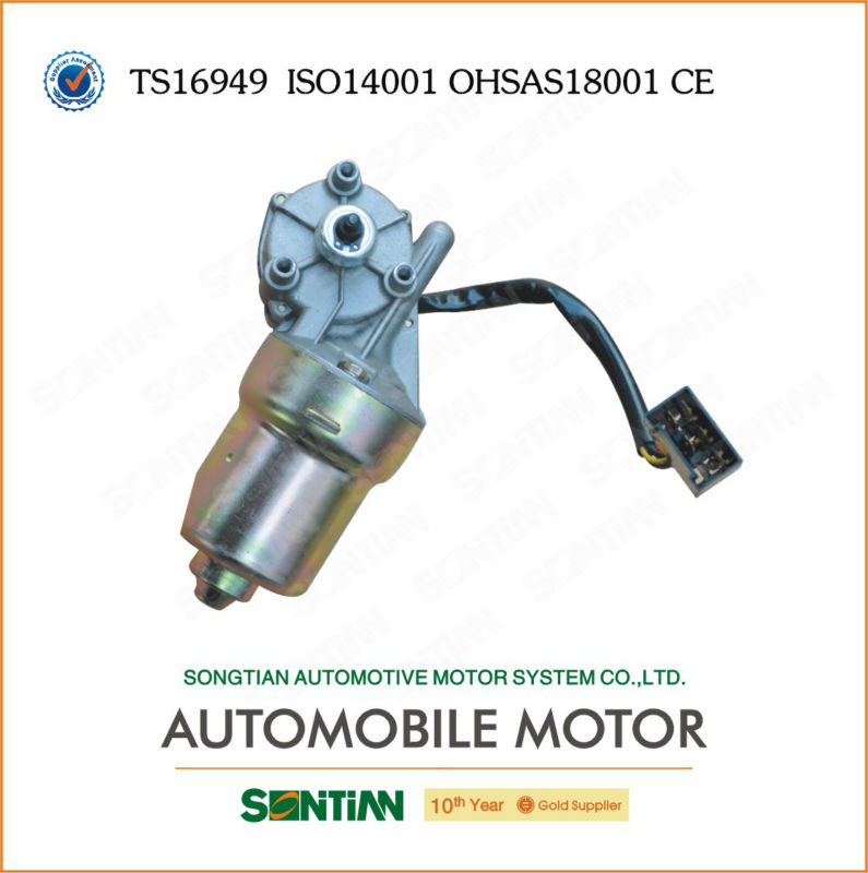 Auto DC Wiper Motor Manufacturer Electric Car Wiper Motor 12V