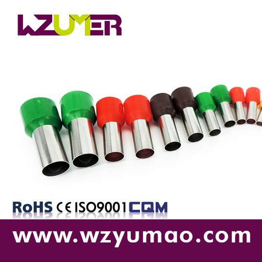 WZUMER Insulated Nylon Cable Tube Shaped Cord End Crimp Connector lugs