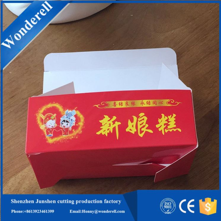 factory made Gold foil package new paking lettuce boxes