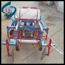 Tractor mounted plastic mulch layer machine for sowing peanut and potato