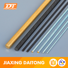 Long Thread Rod Din975 Grade 4.8 8.8 10.9 12.9 Carbon Steel/Stainless Steel Zinc Plated Black HDGPlain Threaded Rods